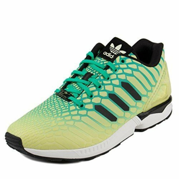 on sale 621b9 89cfc Adidas ZX Flux Xeno Glow In The Dark Shoes AQ8212